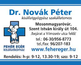 Dr. Novák Péter