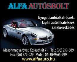 Alfa Autósbolt