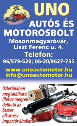 UNO Autós és Motoros Bolt