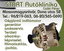 Csáki Péter - Start Autóklinika