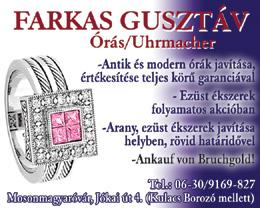 Farkas Gusztáv - Órás