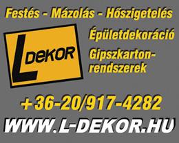 L-Dekor Lengyel István - festőmester