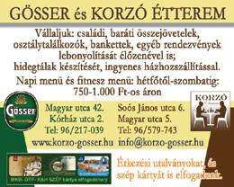 Gösser és Korzó Étterem