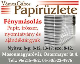 Vámos Gábor Papírüzlete
