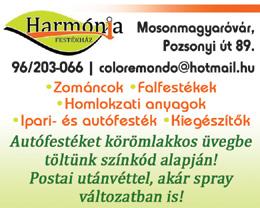 Harmónia Festékház