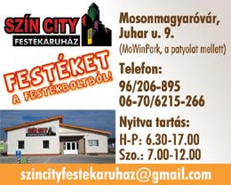 Szín City Festékáruház