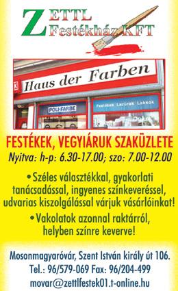 Zettl Festékház Kft