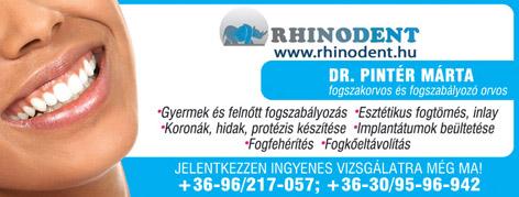 Rhinodent - Dr. Pintér Márta