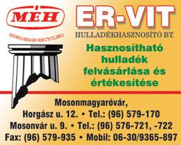 ER-VIT Hulladékhasznosító Bt.