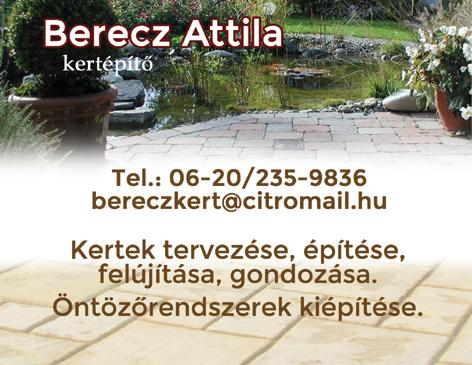 Berecz Attila - Kertépíto