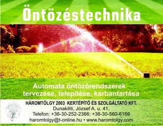 Háromtölgy 2003 Kertépítő és Szolgáltató Kft.