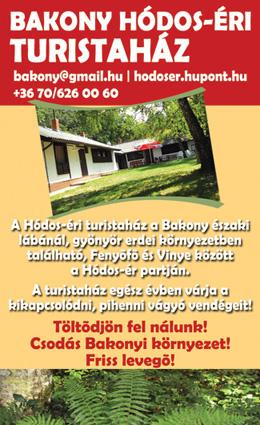 Bakony Hódos-éri Turistaház