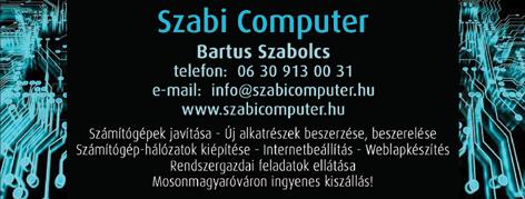 Szabi Computer Bt Bartus Szabolcs