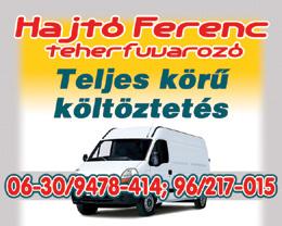 Hajtó Ferenc - Teherfuvarozó