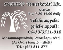Anubisz Temetkezési Kft.