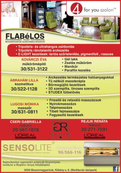 4 For You Szalon & Sensolite Gyógycentrum